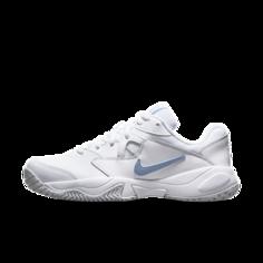 Женские теннисные кроссовки для игры на кортах с твердым покрытием NikeCourt Lite 2 - Белый