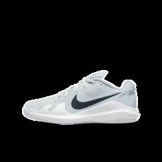 Теннисные кроссовки для дошкольников/школьников NikeCourt Jr. Vapor Pro - Серый