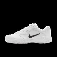 Мужские теннисные кроссовки для игры на кортах с твердым покрытием NikeCourt Lite 2 - Белый