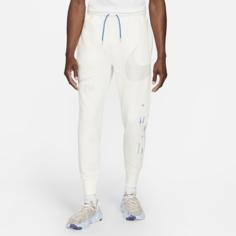 Мужские брюки с полуначесом Nike Sportswear Swoosh - Серый