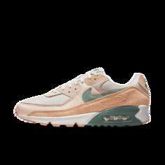 Мужские кроссовки Nike Air Max 90 Premium - Серый