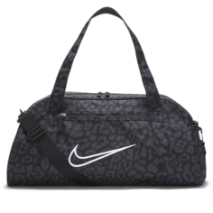 Женская сумка-дафл с принтом для тренинга Nike Gym Club - Черный