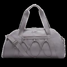Женская сумка-дафл для тренинга Nike One Club - Серый