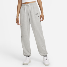 Женские джоггеры оверсайз Nike Sportswear Icon Clash - Серый
