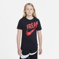 Футболка для мальчиков школьного возраста Nike Dri-FIT Giannis - Черный