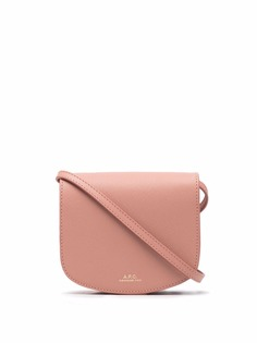 A.P.C. мини-сумка Dina из сафьяновой кожи