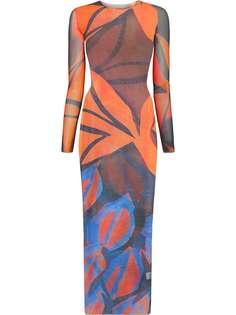 Louisa Ballou платье макси High Tide
