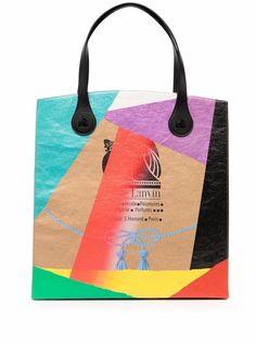 LANVIN сумка Kraft из коллаборации с Gallery Dept.