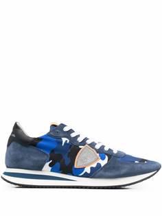 Philippe Model Paris кроссовки Paris с камуфляжным принтом
