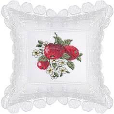 Декоративная подушка Laroche белая 40х40 см