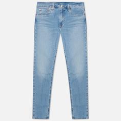 Мужские джинсы Levis 512 Slim Taper Fit, цвет голубой, размер 34/32