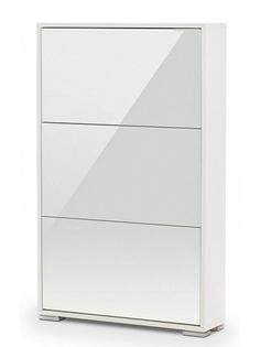Обувница Vental Вива-3LW White-White стекло