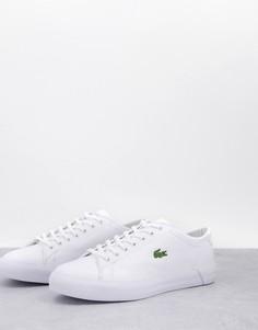 Белые кроссовки Lacoste Gripshot-Белый