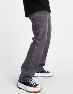 Черные выбеленные джинсы прямого кроя Levis 501 93-Черный