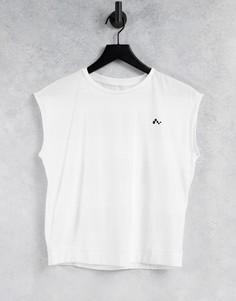 Белая футболка с короткими рукавами Only Play-Белый