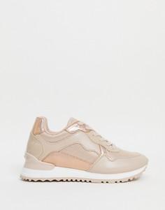 Розовые кроссовки Aldo Drathis-Белый