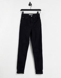 Черные премиум-джинсы в винтажном стиле Topshop-Черный цвет