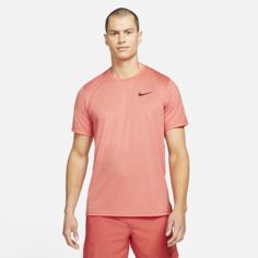 Мужская футболка с коротким рукавом Nike Pro Dri-FIT - Красный