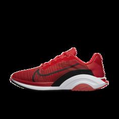 Мужские кроссовки повышенной прочности Nike ZoomX SuperRep Surge - Красный