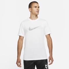 Мужская футболка с графикой Nike Pro Dri-FIT - Белый