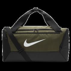 Сумка-дафл для тренинга Nike Brasilia (маленький размер) - Коричневый