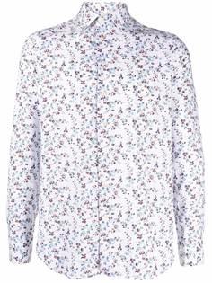 Etro рубашка с цветочным узором