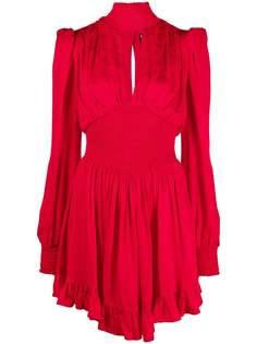Versace Jeans Couture платье с эластичными вставками