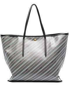 Thom Browne сумка-тоут с монограммой