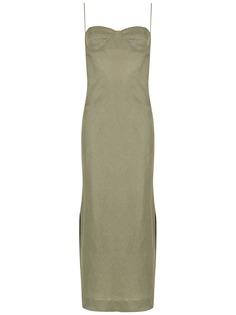 PIU BRAND платье Aura с разрезом сбоку