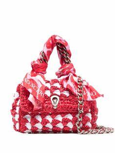 Ermanno Scervino плетеная сумка на плечо