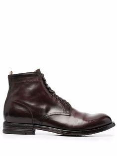 Officine Creative ботинки на шнуровке