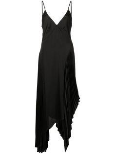 Monse платье-комбинация с плиссировкой