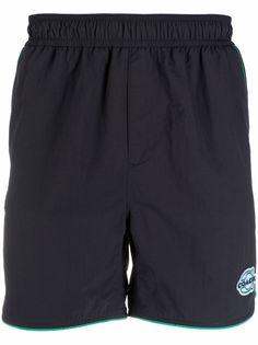 Coach спортивные шорты с нашивкой-логотипом