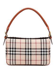 Burberry Pre-Owned сумка в клетку House Check
