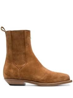 Balmain ботинки с квадратным носком