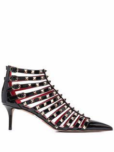 Valentino Garavani туфли Rockstud с ремешками