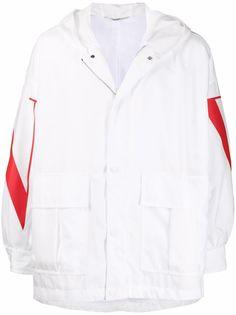 Valentino куртка с логотипом VLTN