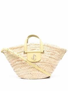 Jimmy Choo сумка-тоут Macy из рафии