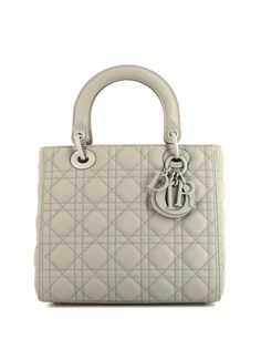 Christian Dior сумка Lady Dior Cannage pre-owned 2020-го года