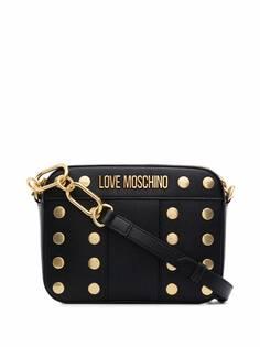 Love Moschino сумка на плечо из искусственной кожи с заклепками