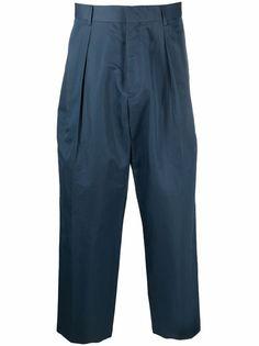 PAUL SMITH широкие брюки со складками