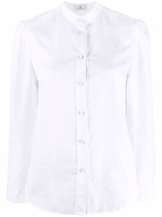Etro рубашка на пуговицах без воротника