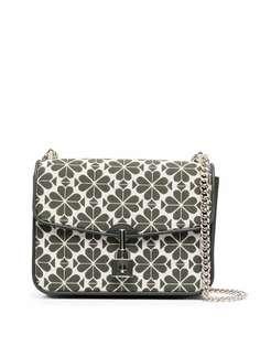 Kate Spade жаккардовая сумка на плечо с цветочным узором