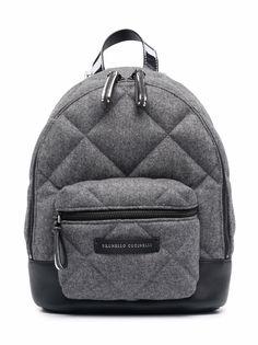 Brunello Cucinelli Kids стеганый рюкзак