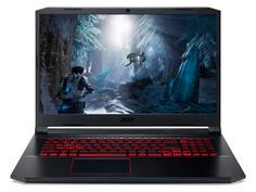 Ноутбук Acer Nitro 5 AN517-52-5600 NH.Q8JER.00J (Intel Core i5 10300H 2.5Ghz/8192Mb/512Gb SSD/nvidia GeForce GTX 1660 Ti 6144Mb/Wi-Fi/Bluetooth/Cam/17.3/1920x1080/Windows 10 Home 64-bit)
