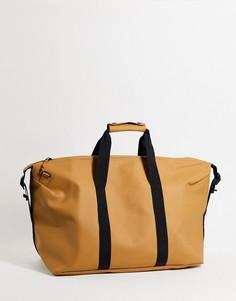 Дорожная сумка цвета хаки Rains 1320-Коричневый цвет