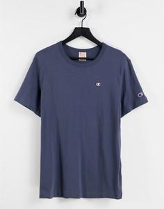 Темно-серая футболка с логотипом Champion Reverse Weave-Серый