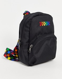 Черный рюкзак Vans Pride Got This-Multi