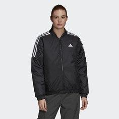 Утепленная куртка-бомбер Essentials adidas Sportswear