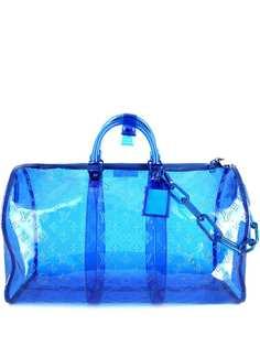 Louis Vuitton дорожная сумка Vinyl Keepall 2019-го года
